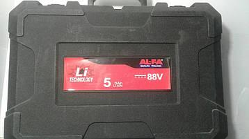 Акамуляторний перфоратор Al-FA 88V, фото 2