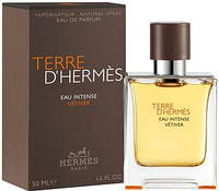 Hermes Terre D'Hermes Eau Intense Vetiver edp 50 ml. оригинал