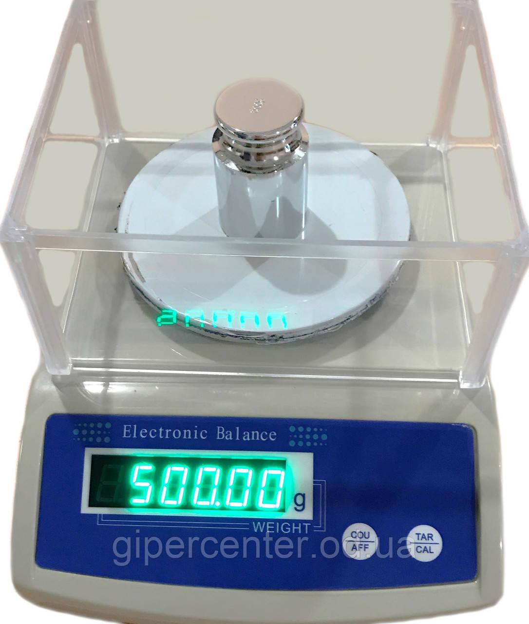 Весы лабораторные ПРОК ВЛ-600-0,01 (электронные для ломбарда)