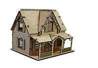 Конструктор из дерева Кукольный домик Kalinin арт 030