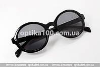 Сонцезахисні окуляри ДЛЯ ЗОРУ з діоптріями. Жіноча кругла оправа, фото 1
