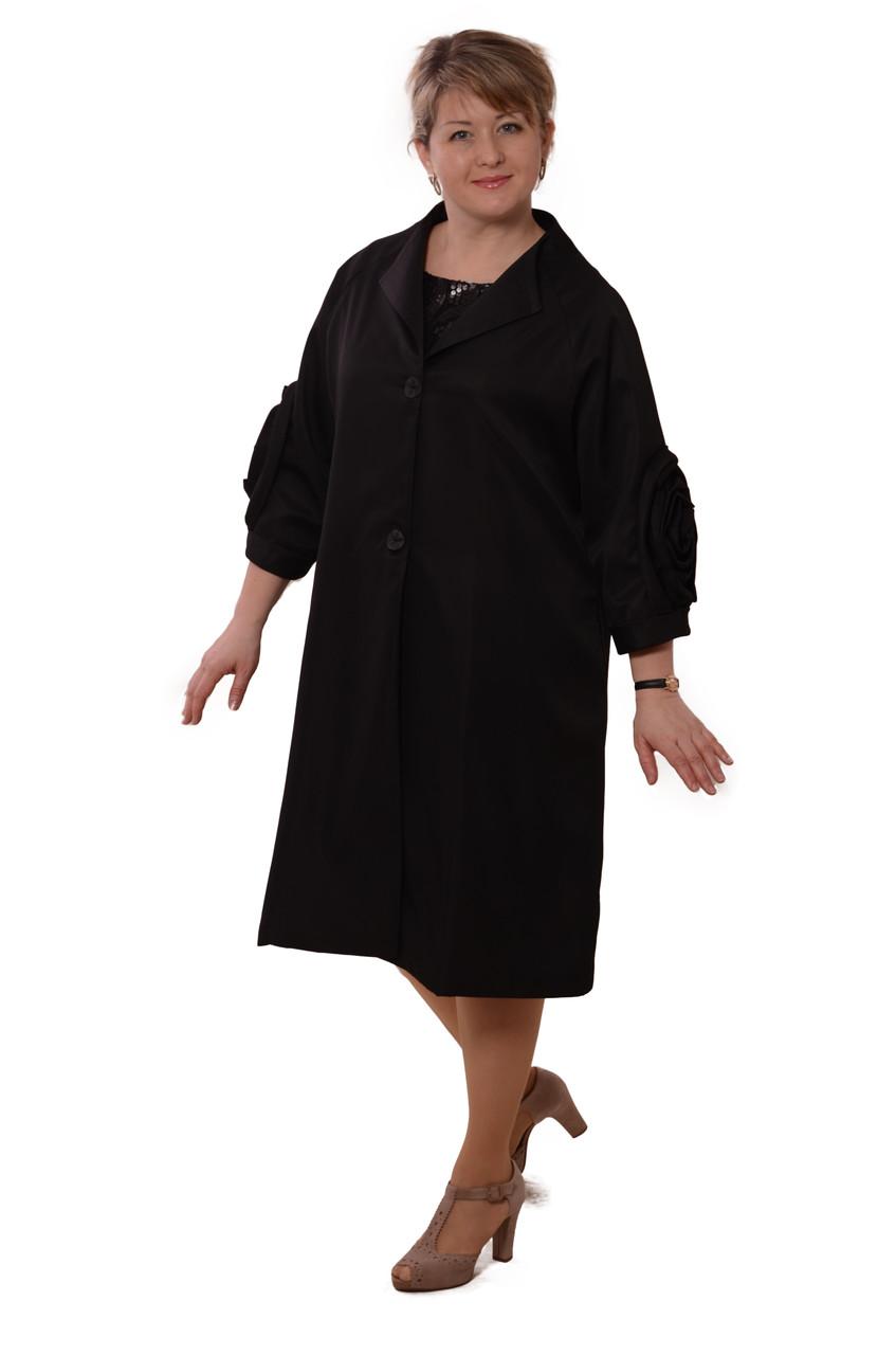Плащі жіночі жіночий кардиган З 011-1 чорний