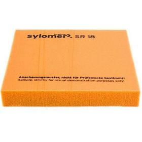 Віброізолюючий поліуретановий еластомер Sylomer SR18-12 помаранчевий