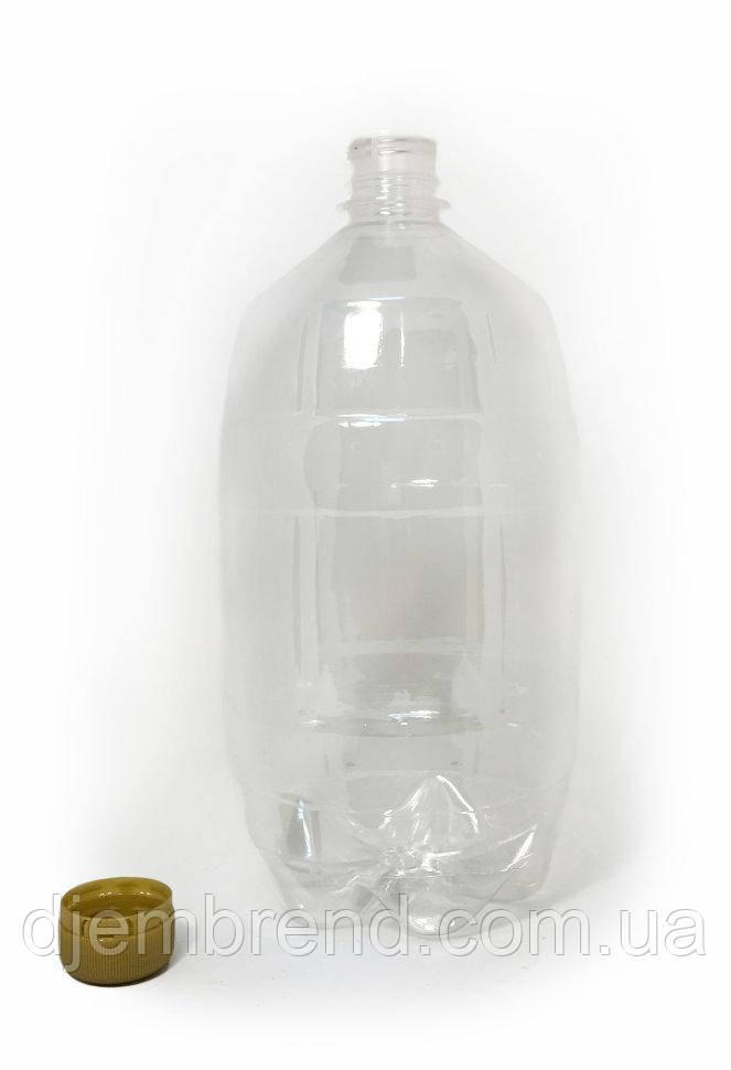 Пэт бутылка 0,5 л, прозрачная , 250 шт в упаковке, с крышкой