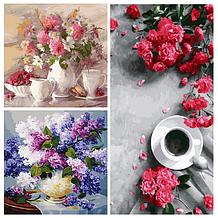 Цветы и натюрморты — недорогие картины