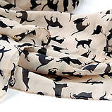 Женский шифоновый шарф - размер шарфа приблизительно 146*47см, шифон, фото 3