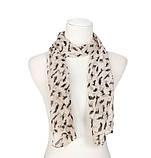 Женский шифоновый шарф - размер шарфа приблизительно 146*47см, шифон, фото 2