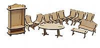 Конструктор из дерева  мебель Кухня Kalinin арт 023