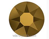 Стразы Swarovski клеевые холодной фиксации 2088 Crystal Dorado F (001 DOR) 12ss (упаковка 1440 шт)