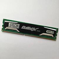 Игровая оперативная память Crucial Ballistix Sport DDR3 1Gb 1600MHz 12800U CL9 (BL12864BA160A.8FG) Б/У