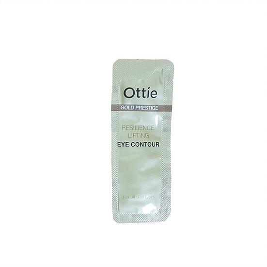 Пробник увлажняющий крем вокруг глаз Ottie Gold Prestige Resilience Advanced Cream, 1 мл