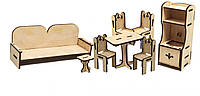 Конструктор из дерева Мебель кухняKalinin арт 026