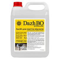 Универсальное моющее средство для пола с ароматом лимона ДажБО Professional 5 л