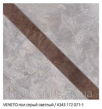 Напольный кафель ВЕНЕТО / VENETO серый темный, фото 2