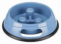 Trixie (Трикси) миска для собак для медленной еды 900 мл 23 см