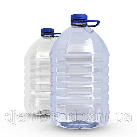 Платиковая бутылка большая