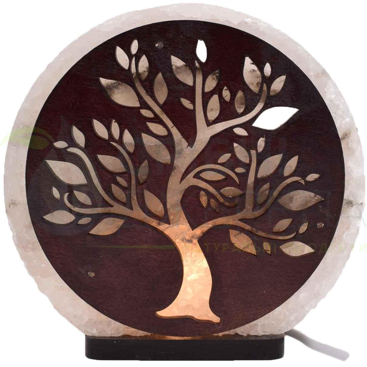 Соляная лампа Дерево №2, 3-4 кг