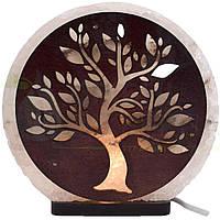 Соляна лампа Дерево №2, 3-4 кг