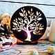 Соляная лампа Дерево №2, 3-4 кг, фото 2