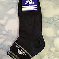 Носки Мужские в стиле ADIDAS  Черные 001