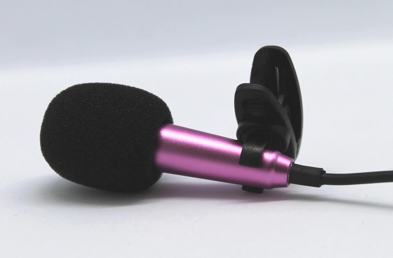 Петличный проводной мини микрофон FG-003