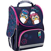 e3bfad4da599 Рюкзак школьный каркасный Kite Owls 35 x 25 x 13 см 11 л Синий