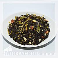 Чай черный с лимоном и мятой , фото 1