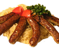 """Колбаски """"Баварские с сыром"""" вес"""