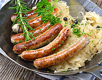 """Колбаски"""" Братвурст- Паприк"""" вес"""