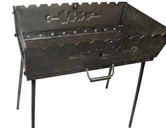 Мангал-чемодан на 6 шампуров Master Tool 92-0002