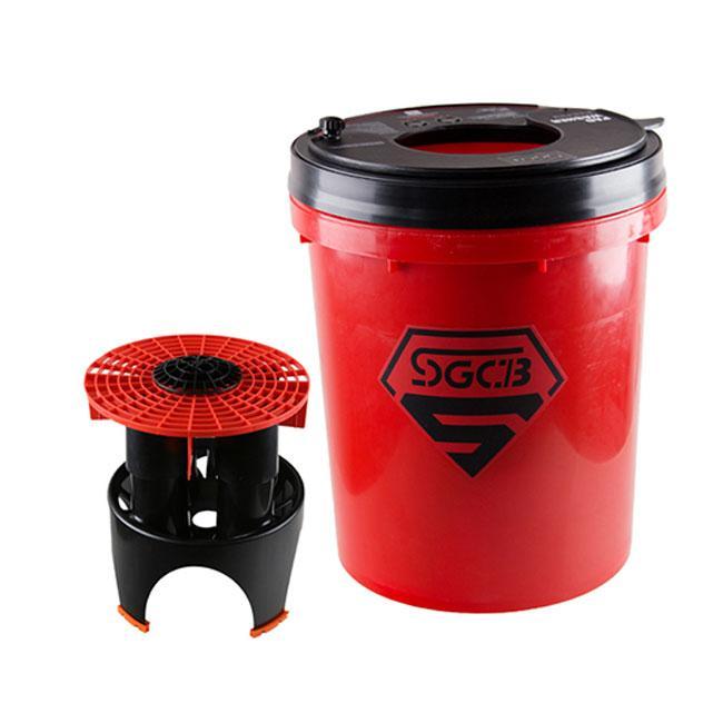 SGCB SGGD112 Красное ведро для мойки полировальников