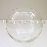 Ваза-шар стеклянная d15см