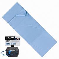 Вкладыш для спального мешка Ferrino Liner Comfort Light SQ Blue, фото 1
