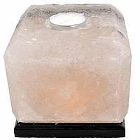 Соляна лампа SaltLamp Куб-арома 2 кг