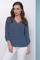 Женская блузка без застежки спереди (1814 mrs), фото 2