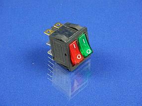 Сетевая кнопка масленного обогревателя универсальная двойная (ST-10)