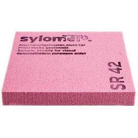 Виброизолирующий полиуретановый эластомер Sylomer SR42-12 розовый