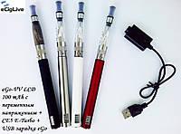 Электронные сигареты eGo-VV LCD 1100 mAh с переменным напряжением+CE5 E-Turbo, фото 1