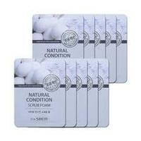 Пенка-скраб The Saem Natural Condition Scrub Foam Deep Pore Cleansing  2.5 ml