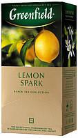 Чай пакетированный Greenfield Lemon Spark 25 х 1.5г