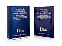 Маска для лица с биологическим экстрактом огурца Dior 6 штук