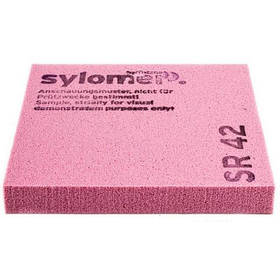 Виброизолирующий полиуретановый эластомер Sylomer SR42-25 розовый