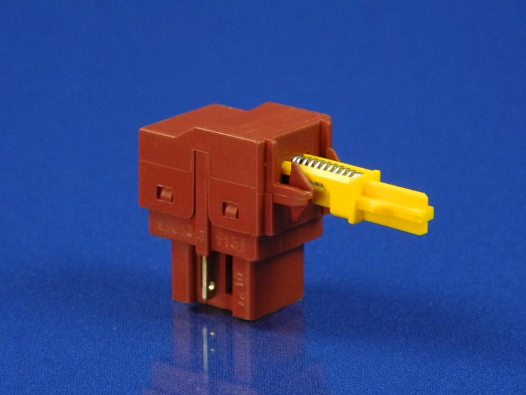 Кнопка сетевая для стиральной машины Zanussi (1245404007), (1249271006)