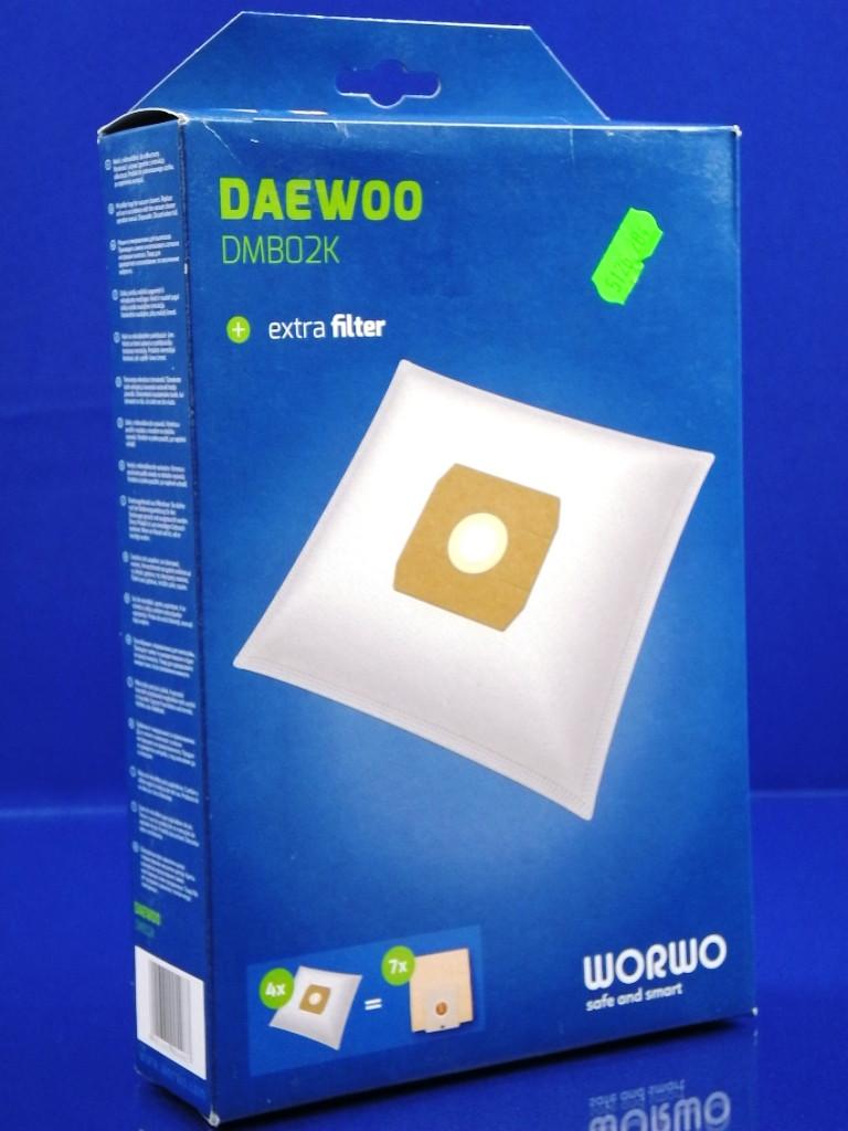 Набор одноразовых мешков WORWO для пылесоса DAEWOO (DMB02K)