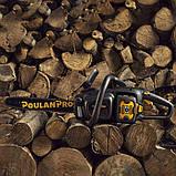 Мощная аккумуляторная цепная пила PoulanPro PRCS16i 58V,5,2А, Husqvarna grouр, фото 6