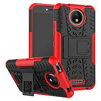 Чехол Armor Case для Motorola Moto C Plus XT1723 Красный, фото 1