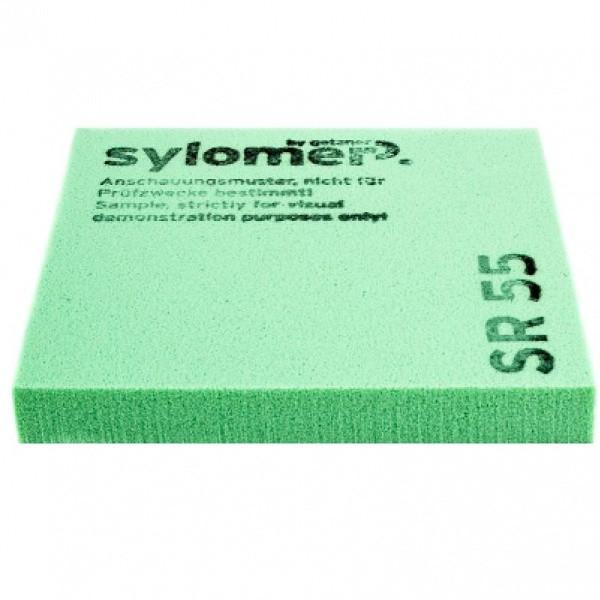Виброизолирующий полиуретановый эластомер Sylomer SR55-25 зеленый