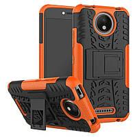 Чехол Armor Case для Motorola Moto C Plus XT1723 Оранжевый, фото 1