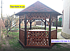 """Беседка деревянная для дачи, сада или частного дома """"Астра-3"""" (3*2,6м), фото 3"""