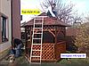 """Беседка деревянная для дачи, сада или частного дома """"Астра-3"""" (3*2,6м), фото 6"""